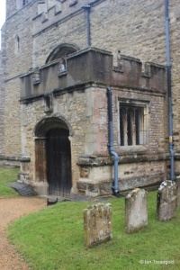 Willington - St Lawrence. South porch.