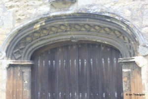 Willington - St Lawrence. South doorway.