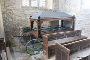 Dean, All Hallows. Victorian hearse.