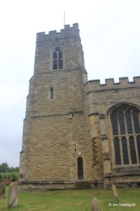 Willington - St Lawrence. Tower from the south.