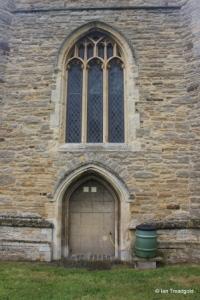 Willington - St Lawrence. West window.