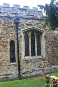 Wilstead - All Saints. South aisle, eastern windows.