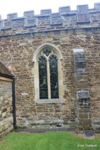 Wilstead - All Saints. South aisle, south window.