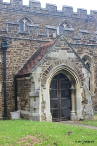 Wilstead - All Saints. South porch.