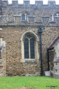 Wilstead - All Saints. South aisle, western window.