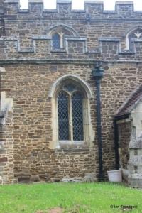 Wilstead - All Saints. South aisle, western window.