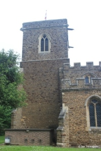 Wilstead - All Saints. Tower from the south.