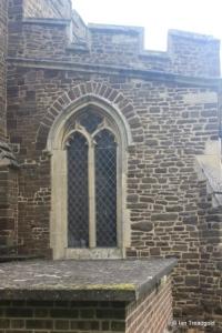 Wilstead - All Saints. South aisle, west window.