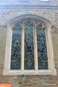 Wilstead - All Saints. North aisle, north-east window.