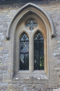 Clapham - St Thomas of Canterbury. Chancel  window.