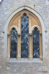 Clapham - St Thomas of Canterbury. East window.