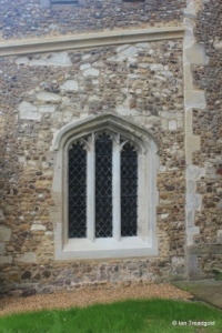 Stotfold - St Mary. North aisle, west window.