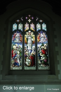 Stotfold - St Mary. East window internal.