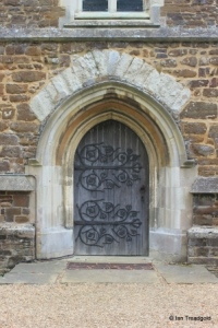 Eversholt - St John the Baptist. Tower west door.