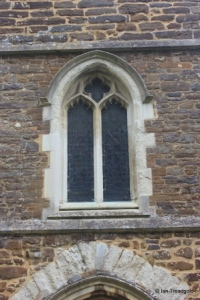 Eversholt - St John the Baptist. Tower west window.