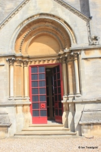 Woburn - St Mary. South doorway.