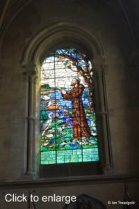Woburn - St Mary. South aisle east window internal.