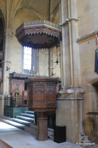 Woburn - St Mary. Pulpit.