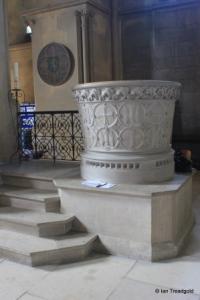 Woburn - St Mary. Font.