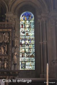 Woburn - St Mary. Chancel, south-east window.