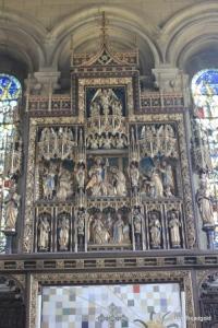 Woburn - St Mary. Reredos.