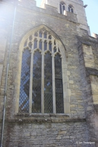 Wootton - St Mary. North aisle, western window.