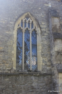 Wootton - St Mary. North aisle, eastern window.