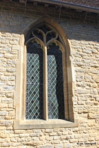 Wootton - St Mary. Chancel, south-east window.