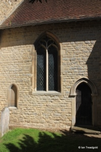 Wootton - St Mary. Chancel, south-west window.