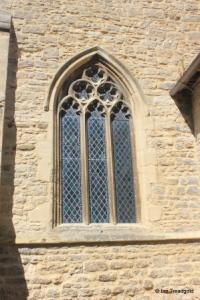 Wootton - St Mary. South aisle, east window.