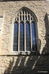 Wootton - St Mary. South aisle, south-east window.