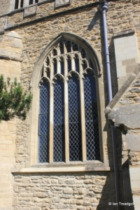 Wootton - St Mary. South aisle, south-west window.