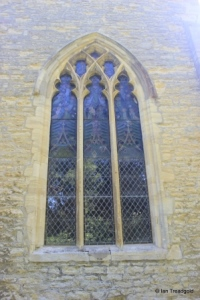 Wootton - St Mary. West window.