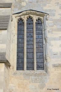 Edlesborough - St Mary the Virgin. Chancel window.