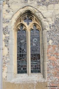 Edlesborough - St Mary the Virgin. South aisle window.