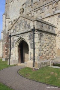 Edlesborough - St Mary the Virgin. South porch.