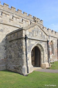 Edlesborough - St Mary the Virgin. South porch.