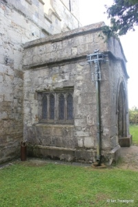 Edlesborough - St Mary the Virgin. North porch.