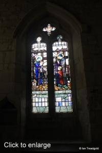 Edlesborough - St Mary the Virgin. South aisle window internal.