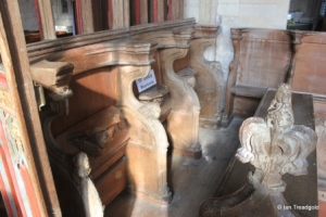 Edlesborough - St Mary the Virgin. Chancel misericords.