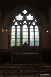 Edlesborough - St Mary the Virgin. East window internal.