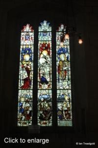 Edlesborough - St Mary the Virgin. Chancel window internal.