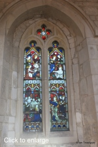 Edlesborough - St Mary the Virgin. North aisle window internal.