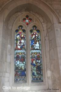Edlesborough - St Mary the Virgin. North aisle window internal.