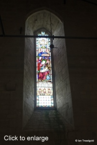 Edlesborough - St Mary the Virgin. Tower west window internal.