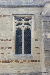 Wymington - St Lawrence. South aisle south-east window.