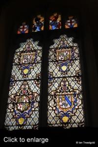 Cockayne Hatley - St John the Baptist. Chancel, south window internal