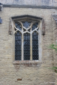Wymington - St Lawrence. North chapel, north-west window.