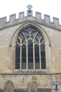 Wymington - St Lawrence. East window.