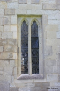 Eaton Bray - St Mary the Virgin. North aisle, western window.